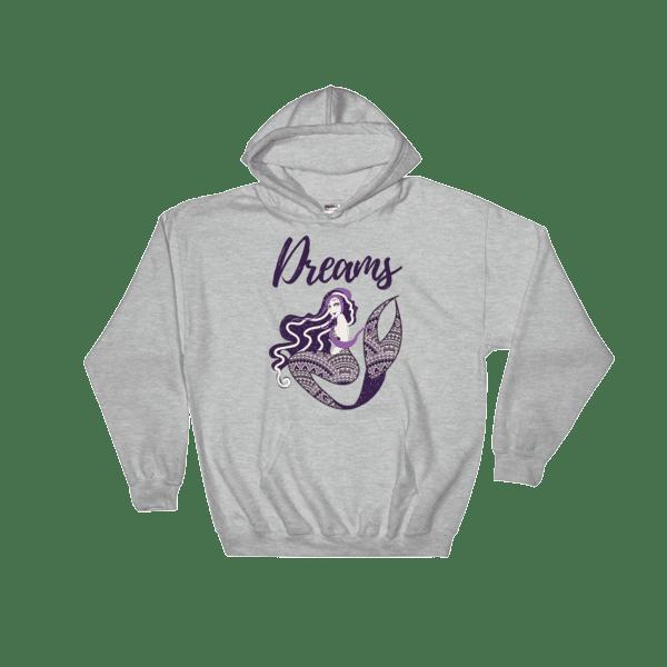 Mermaid Dreams Hooded Sweatshirt