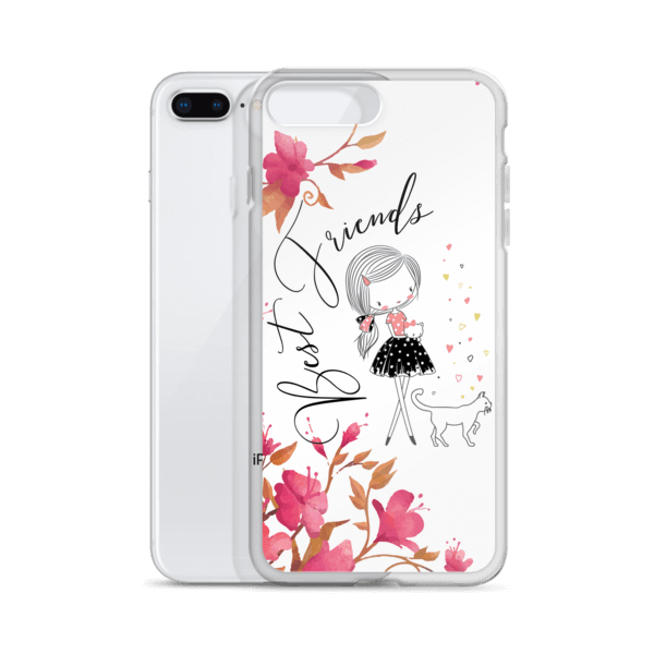 Best Friends Kitty and Me iPhone Case