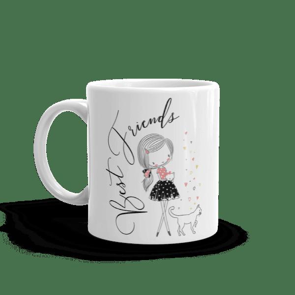 Best Friends Kitty and Me Mug