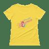 Powerful Women Ladies' Scoopneck T-Shirt