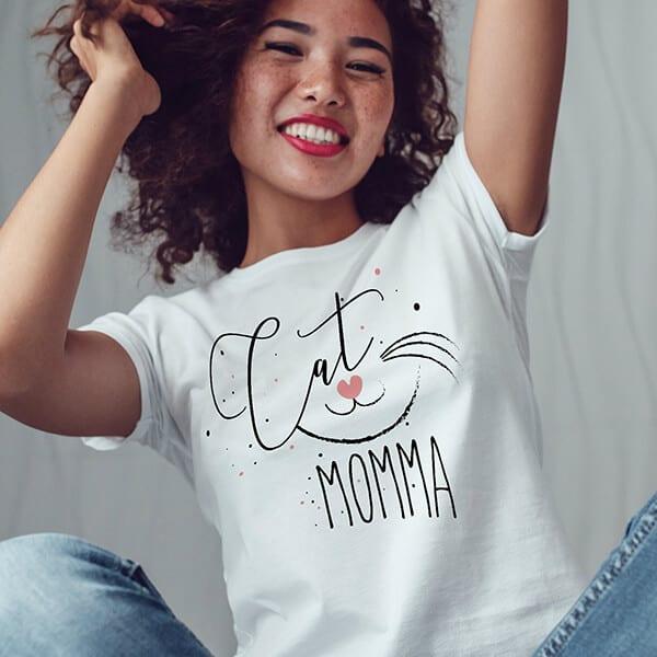 Cat Mama Cat shirt cat lovers gift