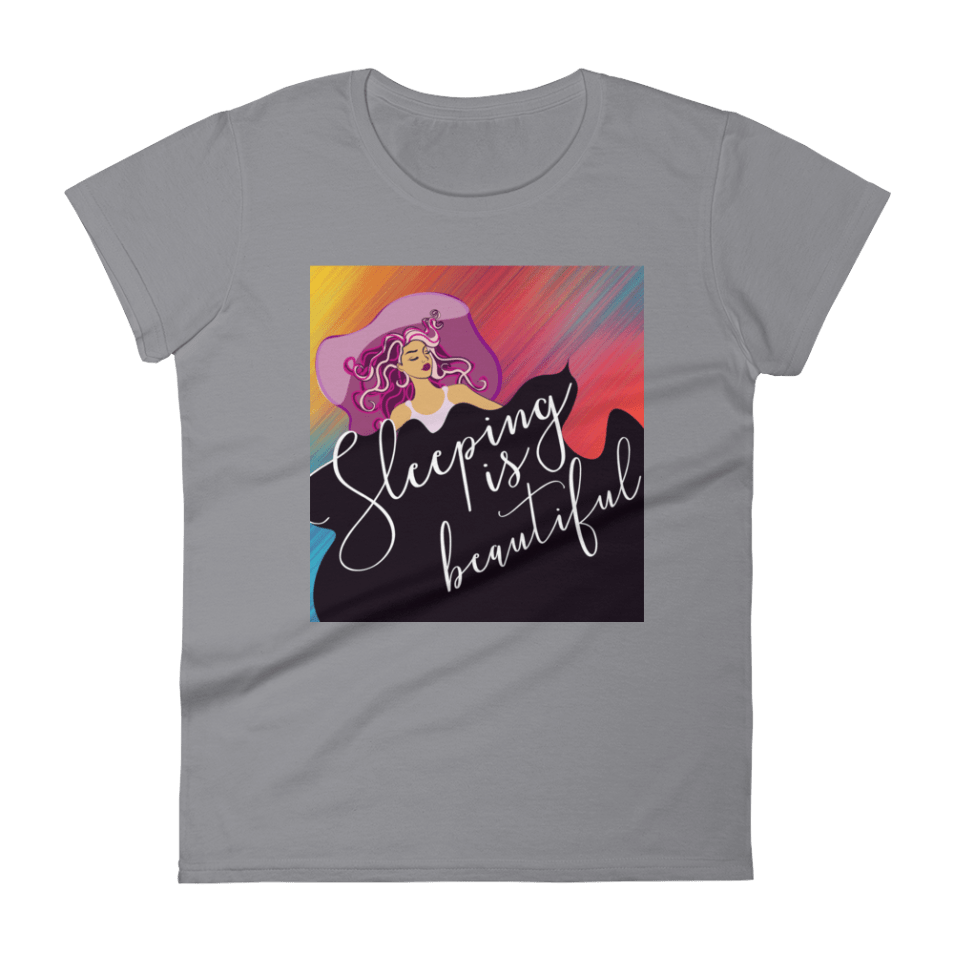 Sleeping Is Beautiful Women's short sleeve t-shirt