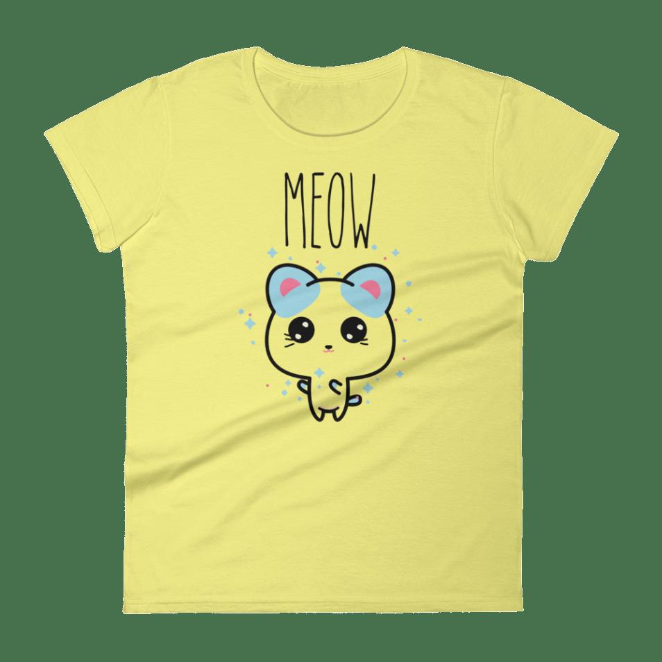 cat shirt cute kawaii t-shirt kitens meow chibi