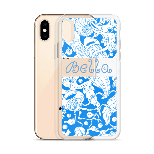 Personalized Kawaii Cnidarians Sea Adventure iPhone Case
