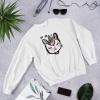 Caticorn Floral Cat Unicorn Sweater