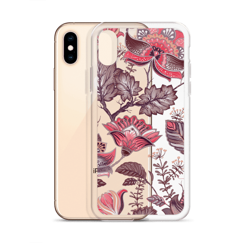 Japanese Peony Watercolor iPhone Case