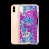 Skull Octopus Peonies iPhone Case