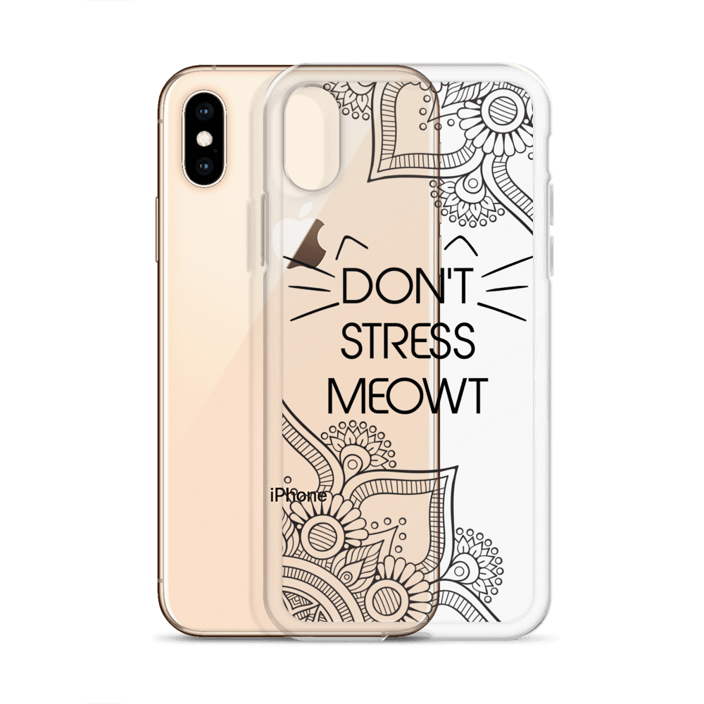 Don't Stress Me Out Cat iPhone Case