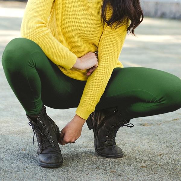Olive Queen Womens Leggings