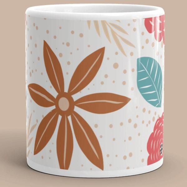 Bliss Flower Mug