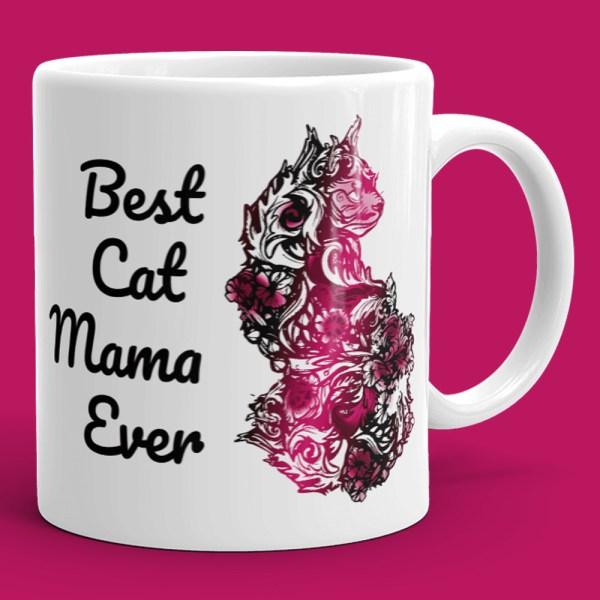 Best Cat Mama Ever Mug - Cat Mom Mug