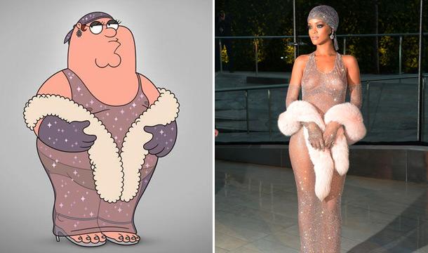 Rihanna-Peter-of-Family-Guy