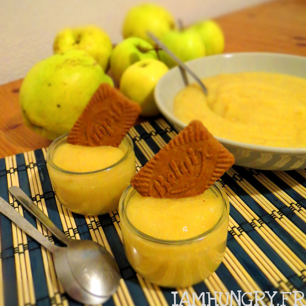 Compote Pommes Coings IAMHUNGRY
