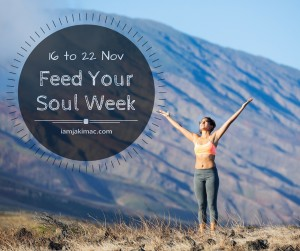 Feed Your Soul Week Ad Black