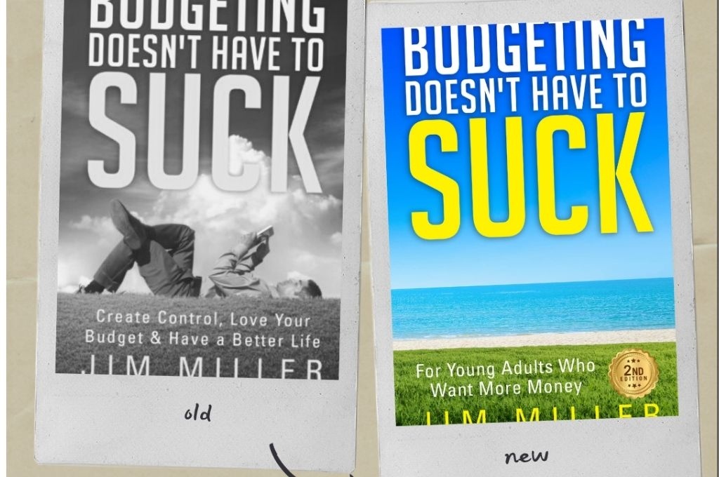 new book is here - budgeting doesn't have to suck