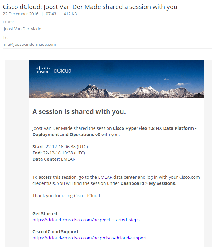 dcloud email
