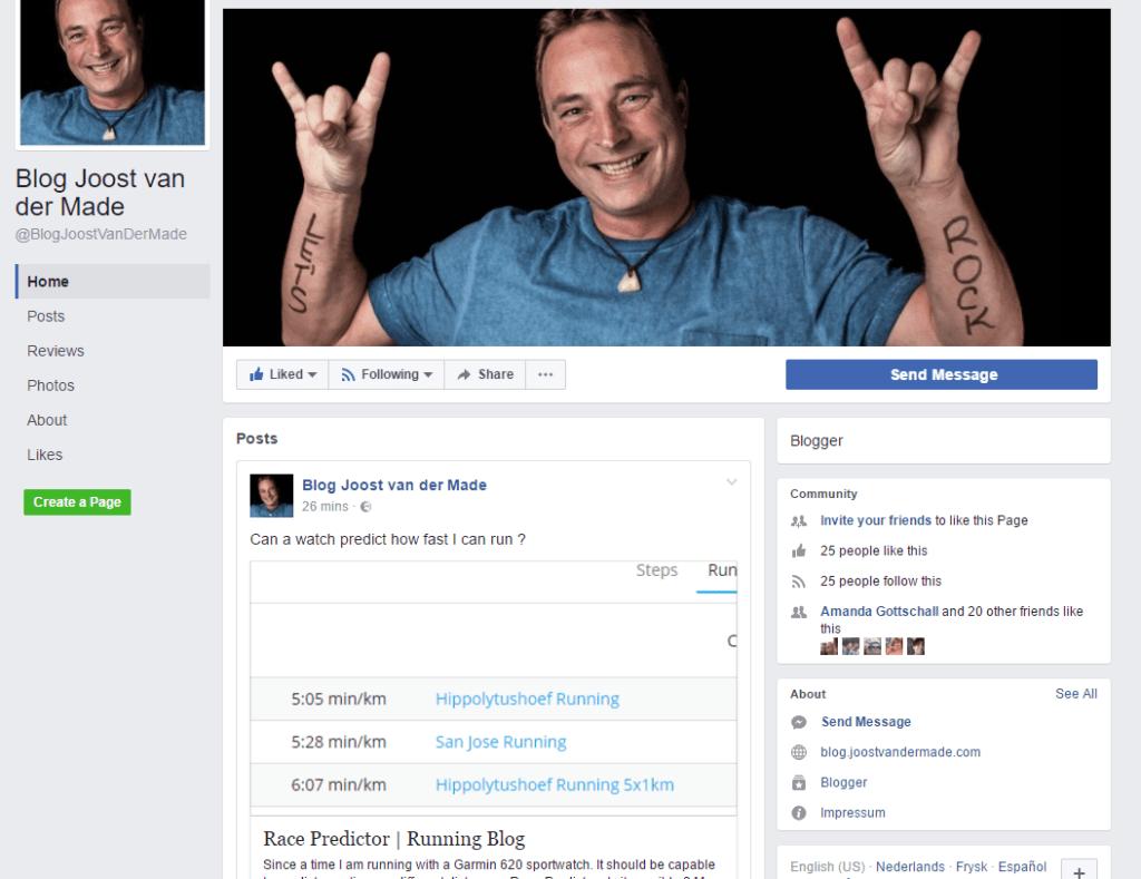 Faceebook Page