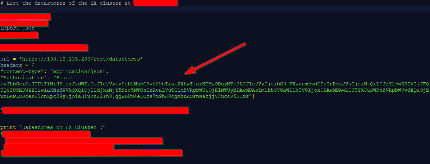 HyperFlex API Demo