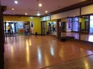 Hotel dance studio