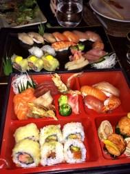 Buddha Bar Sushi sashimi platter