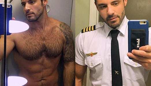 Chuyện gì sẽ xảy ra nếu đây là một phi công luôn gây cảm giác 'kích dục' thế này?