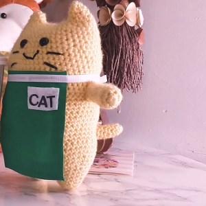Cat's Cafe Comics Crochet Pattern