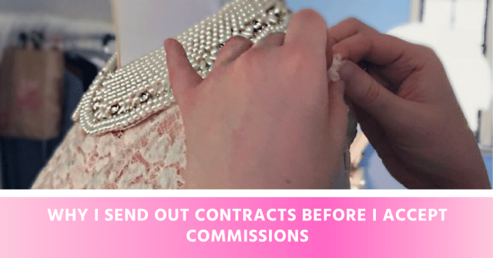 Why I Send Out Contracts Before I Accept Commissions