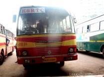 RSC 974 KSRTC kannur ooty at kannur bus stand