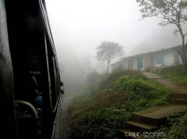 Misty ride to Gavi