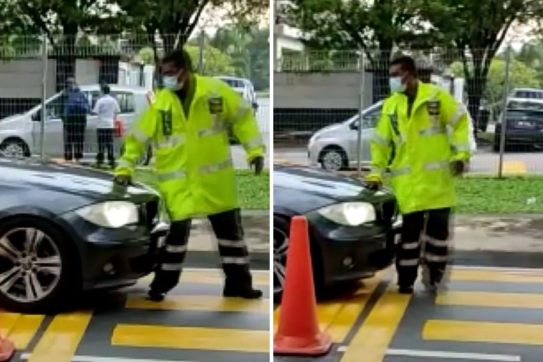 BMW Langgar Anggota Rela