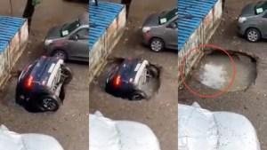 kereta-hilang-di-lot-parkir-rupanya-ditelan-sebuah-lubang-telaga