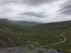 Rugged Healey's Pass.