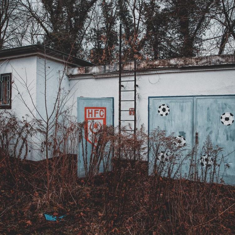 Verlassene Orte hfc fußballplatz halle bölli
