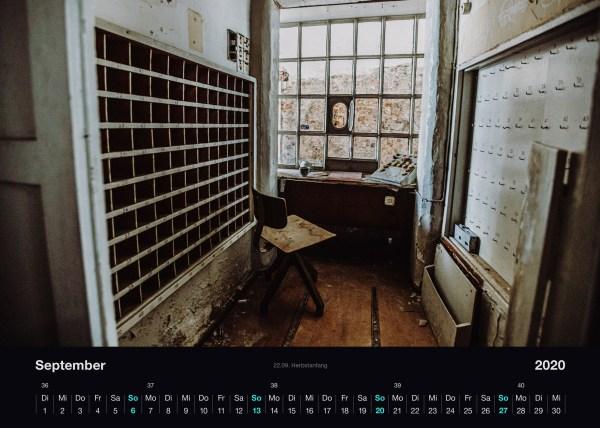 Lostplace Kalender 2020