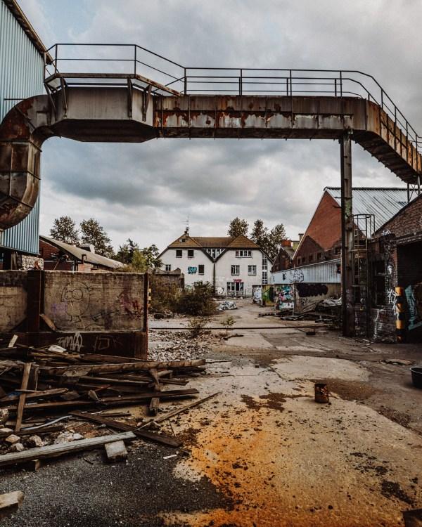 iamlost verlassene orte lostplace lostplaces urbex urban exploring Metalwerke Bender Krefeld Nrw