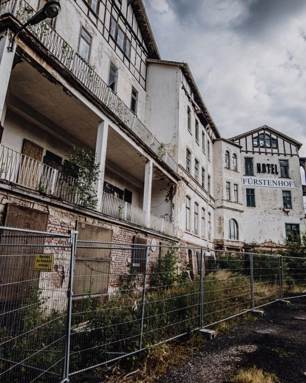 iamlost verlassene orte lostplace lostplaces urbex urban exploring Thueringen Fuerstenhof Eisenach