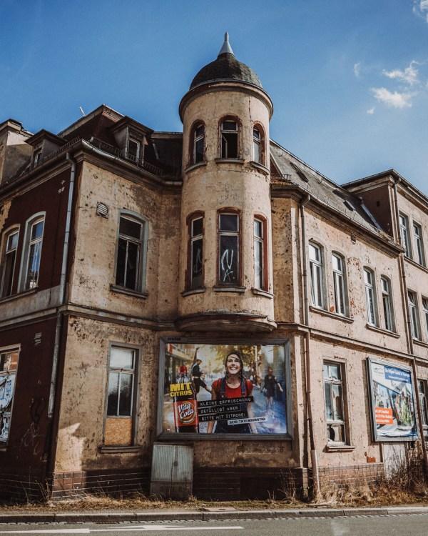 iamlost verlassene orte lostplace lostplaces urbex urban exploring Thueringen Ballhaus Wintergarten Gera