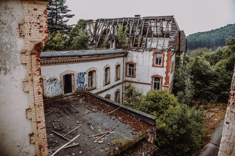 iamlost verlassene orte lostplace lostplaces urbex urban exploring Thueringen sylzheim steierbergklinik