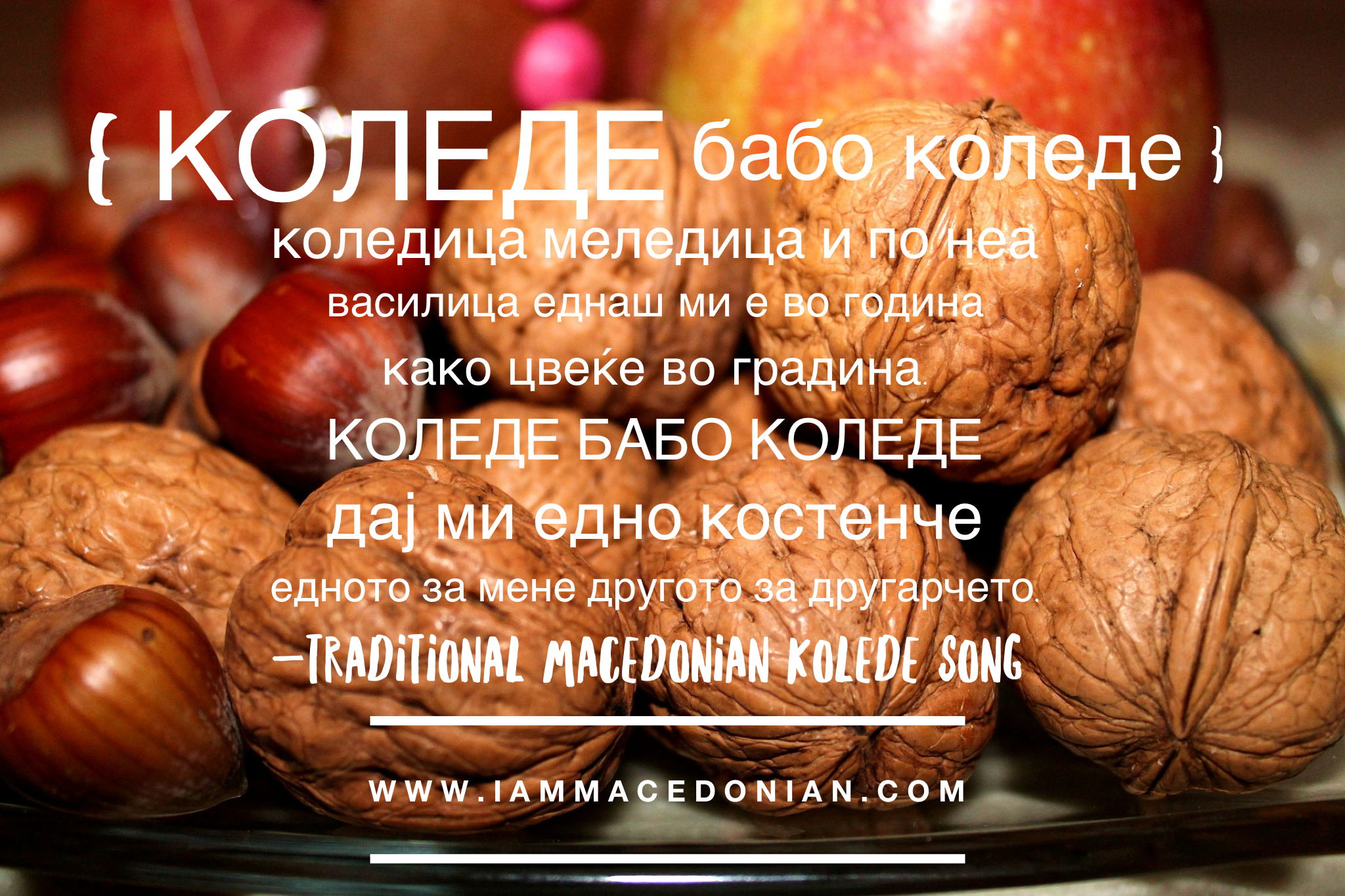 Macedonian Christmas Traditions – It's time for Kolede!