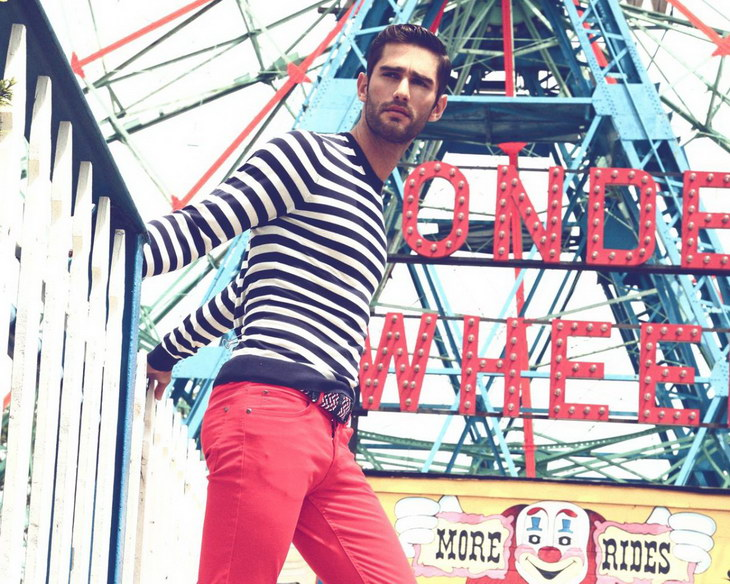 Ricardo Baldin by Thomas Synnamon styled by Jorge Gallegos