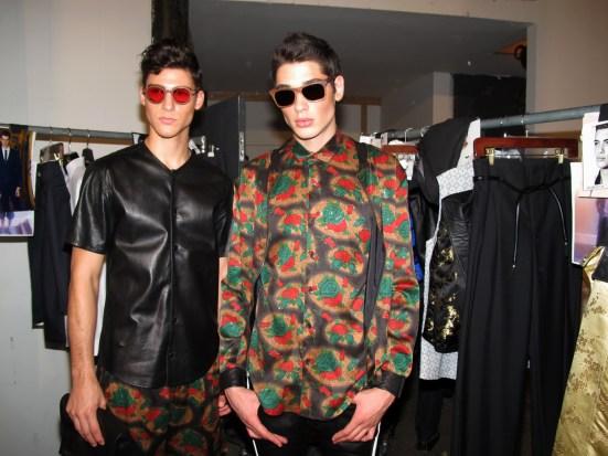 Fashion Report: Backstage Ricardo Seco SS2014 NYFW