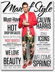 As Seen On: Man of Style February '14 Issue