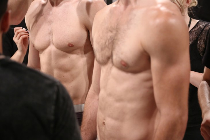 Backstage Parke and Ronen Spring 2018