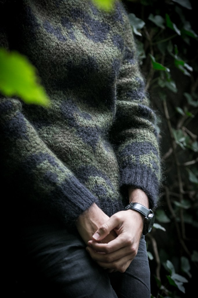 Graphic knits is the hottest menswear trend for fall