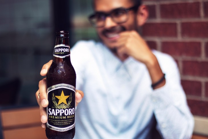 Nothing goes better with sushi than Sapporo