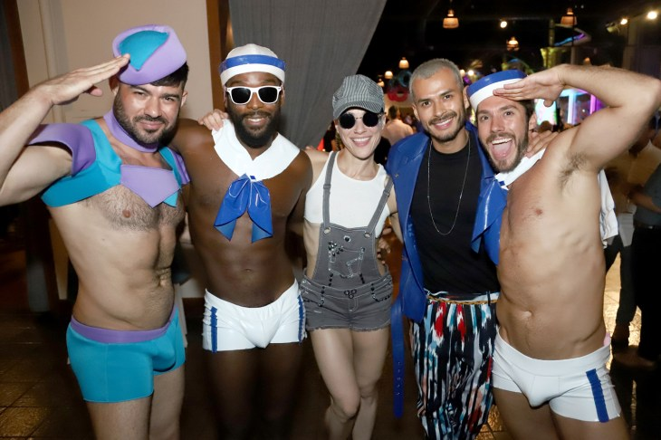 Made A Splash at Ali Forney Center Oasis Summer Party
