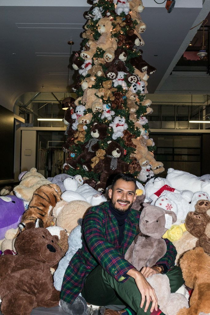 The Teddy Bear Party in Dallas donates hundreds of teddy bears to children fighting disease.