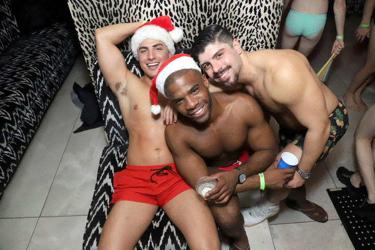 The Chappy x Traveling Bum Holiday Party Was A Sultry Affair