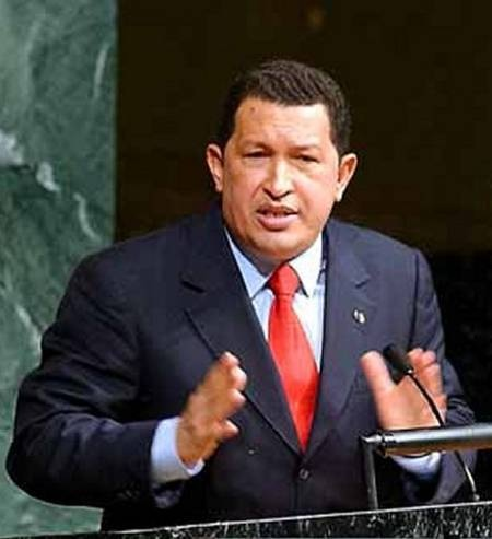 HUGO CHAVEZ ADMITS OBAMA IS SATAN (1/2)
