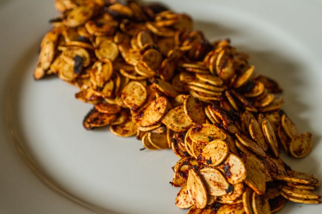 Sweet New Mexico Red Chile Pumpkin Seeds